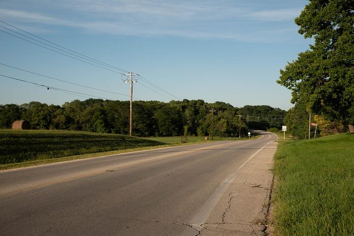 South Bluff Road.  (Emily Wayland / Singular Fortean Society)