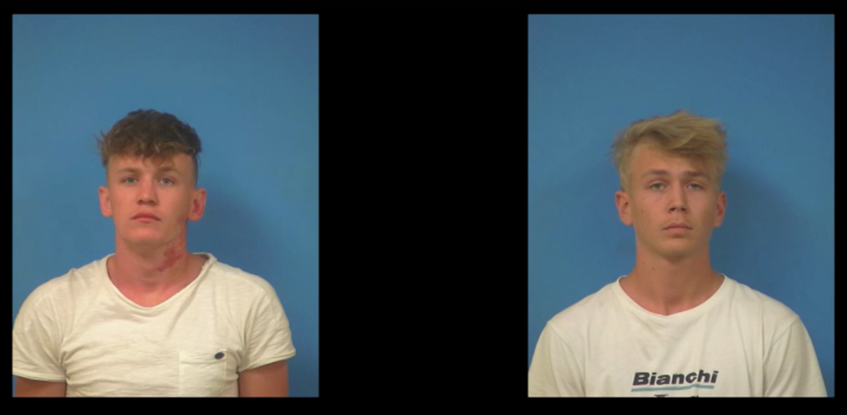 Govert Charles Wilhelmus Jacob Sweep, 21, (pictured left) and Tiers Granzier, 20 (pictured right); both of the Netherlands.  (Nye County Sheriff's Department)