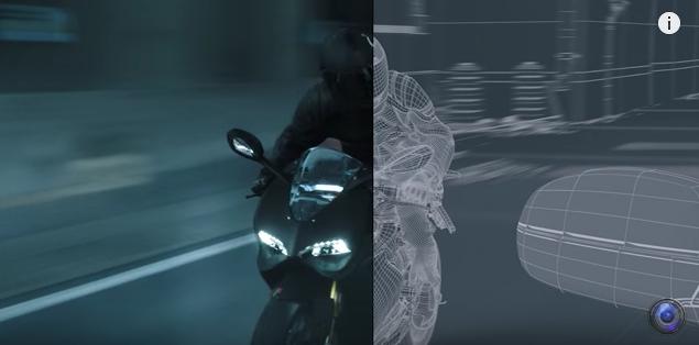 Screenshot from a  Deadpool  VFX reel.
