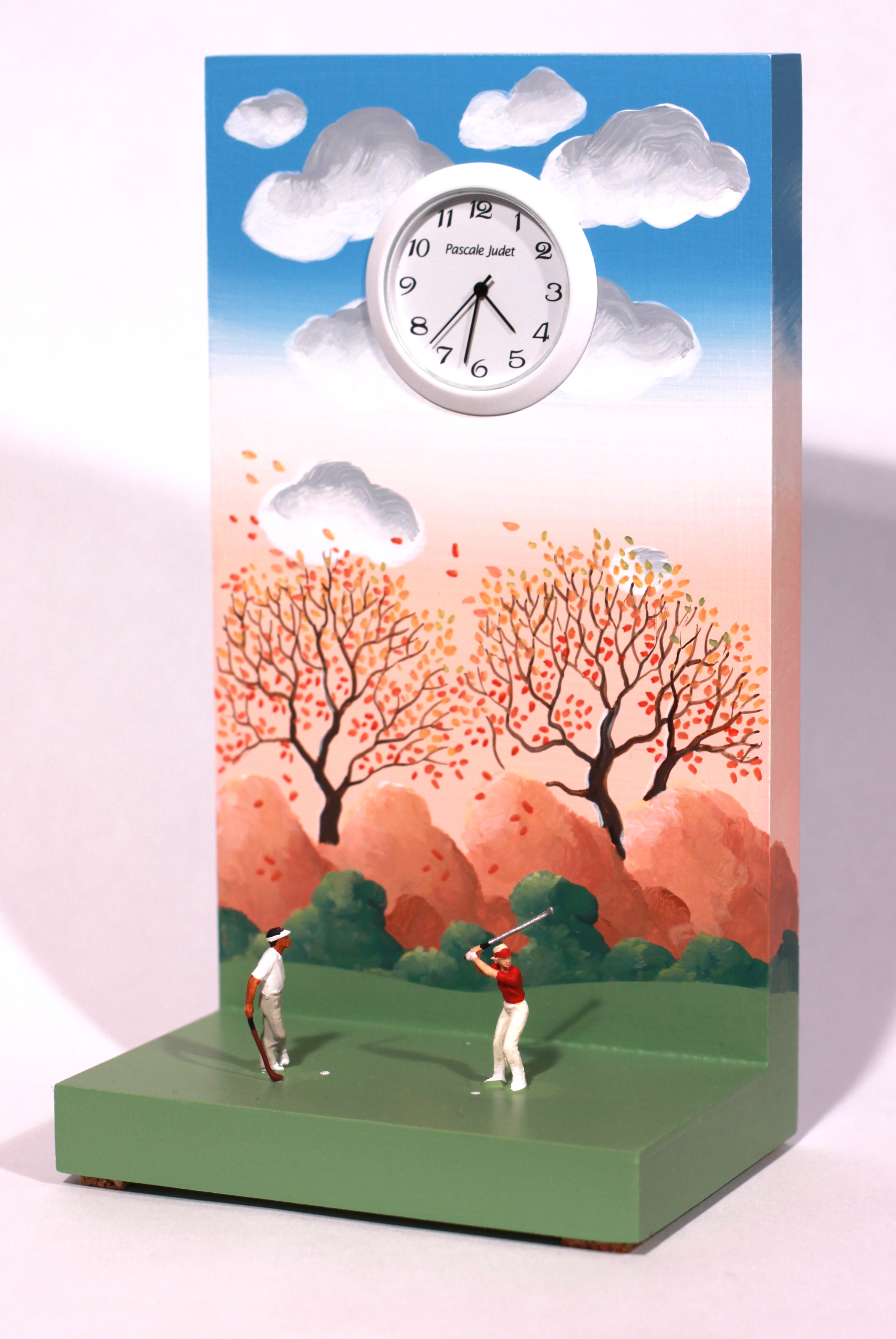 200 - Autumnal golfers