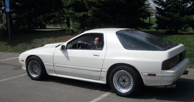 """This car is on 15"""" SSR formula Mesh wheels, with Dual Tip Exhaust from Racing Beat"""