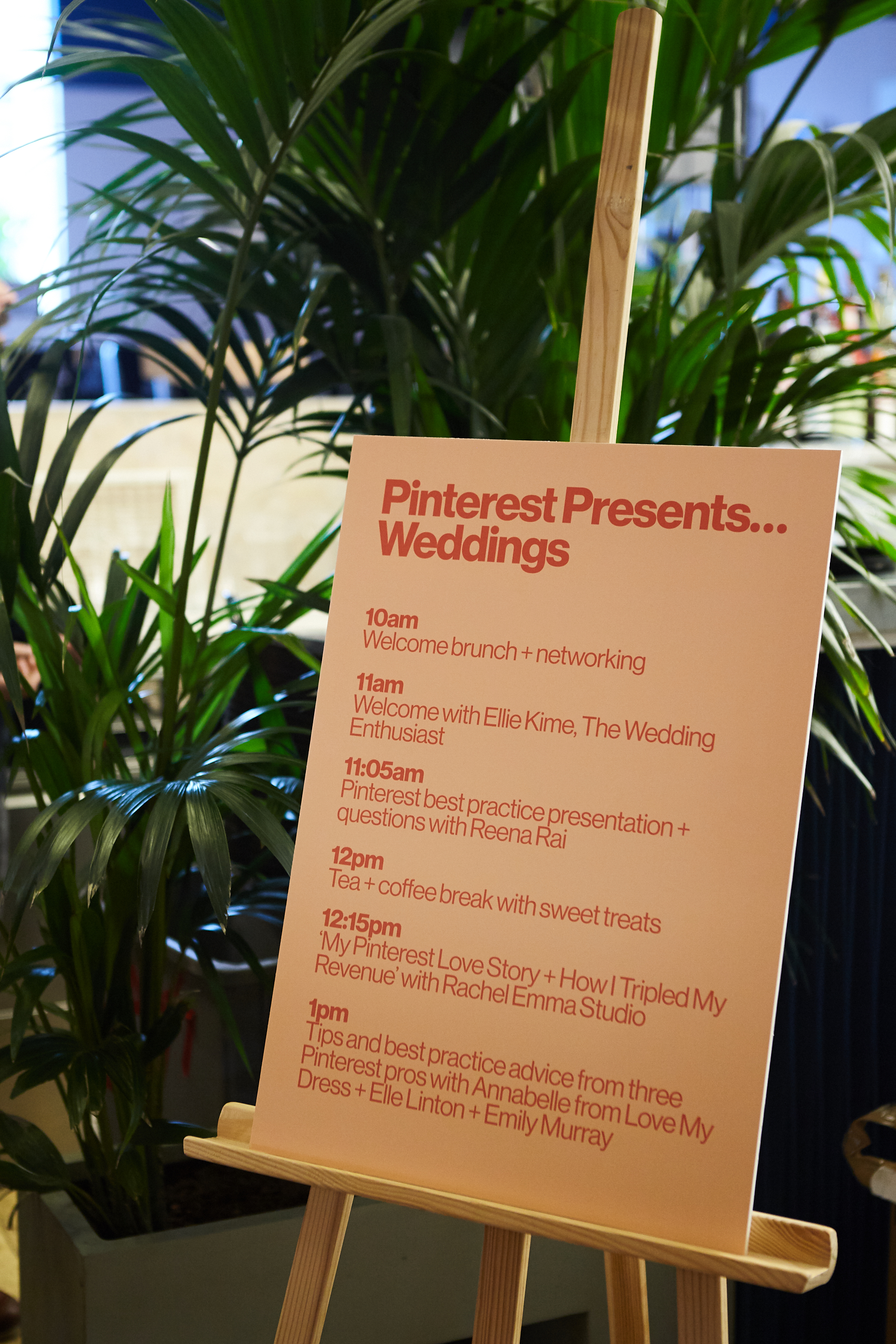 Pinterest Timetable