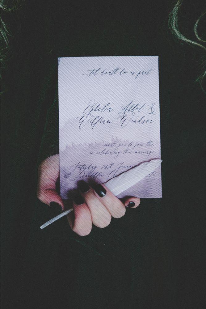 Gothic Invite