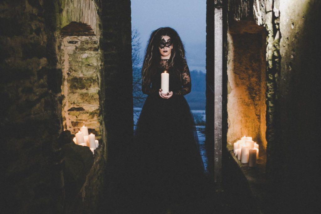 Gothic Masked Bride