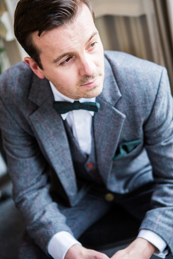 Art Deco Styled Shoot Groom
