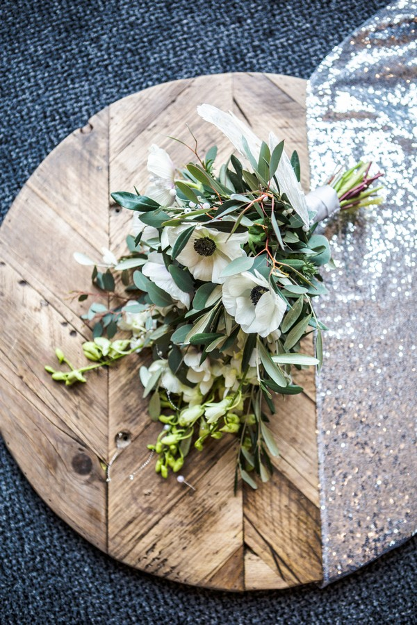Art Deco Styled Shoot Flowers