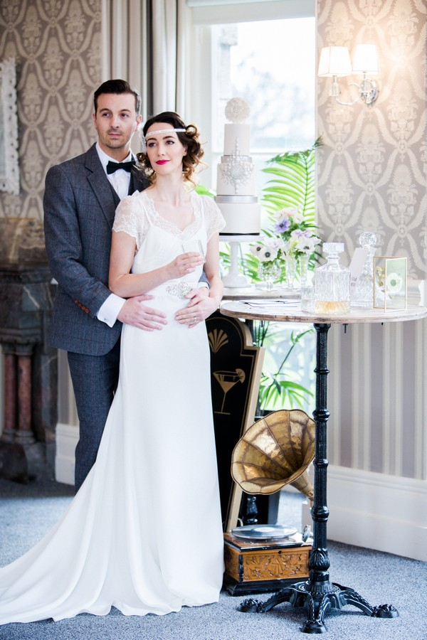 Art Deco Styled Shoot Couple