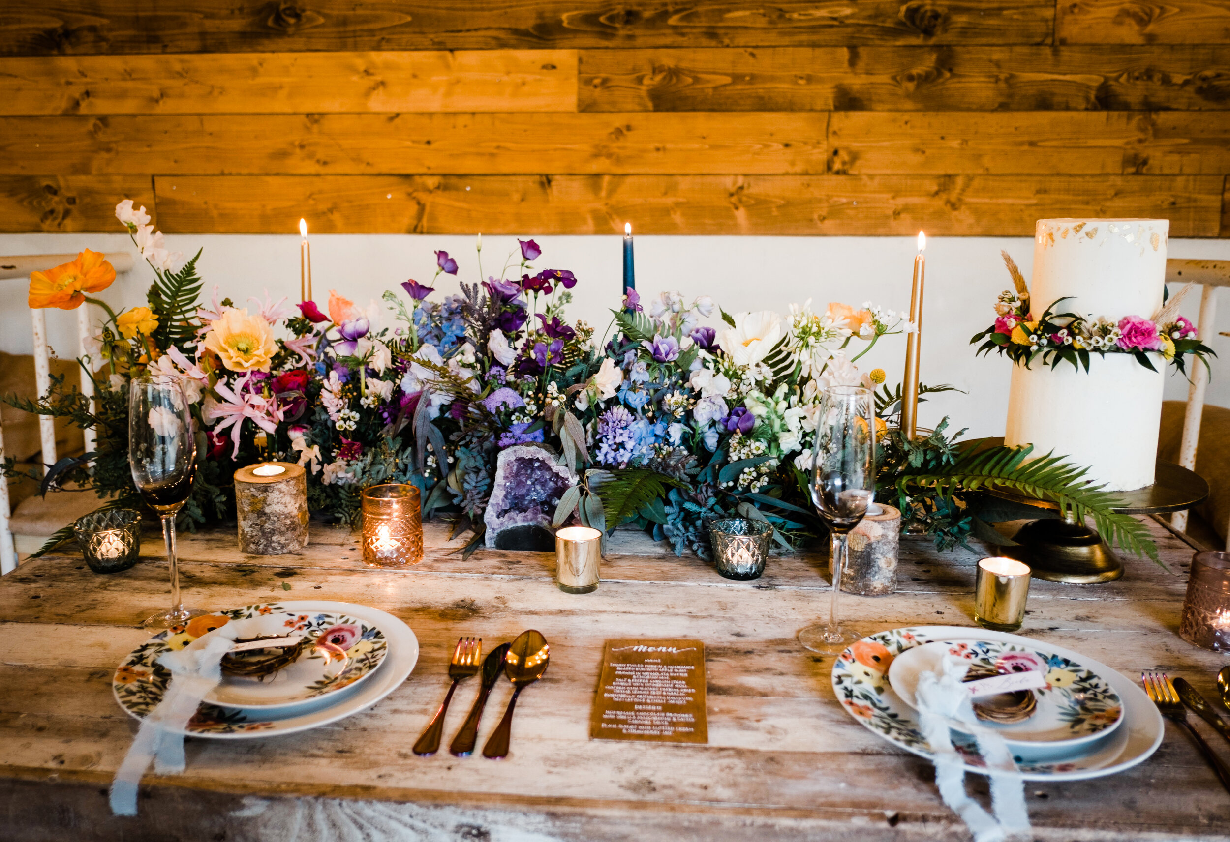The Cow Shed Table Scape