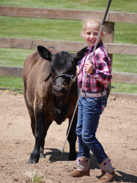 Libby and aida at the clallam county fair, august 2015.