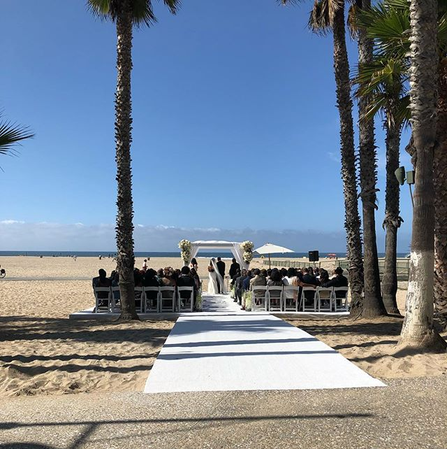 Delighted to be a part of this #beachwedding yesterday! ☀️🐠