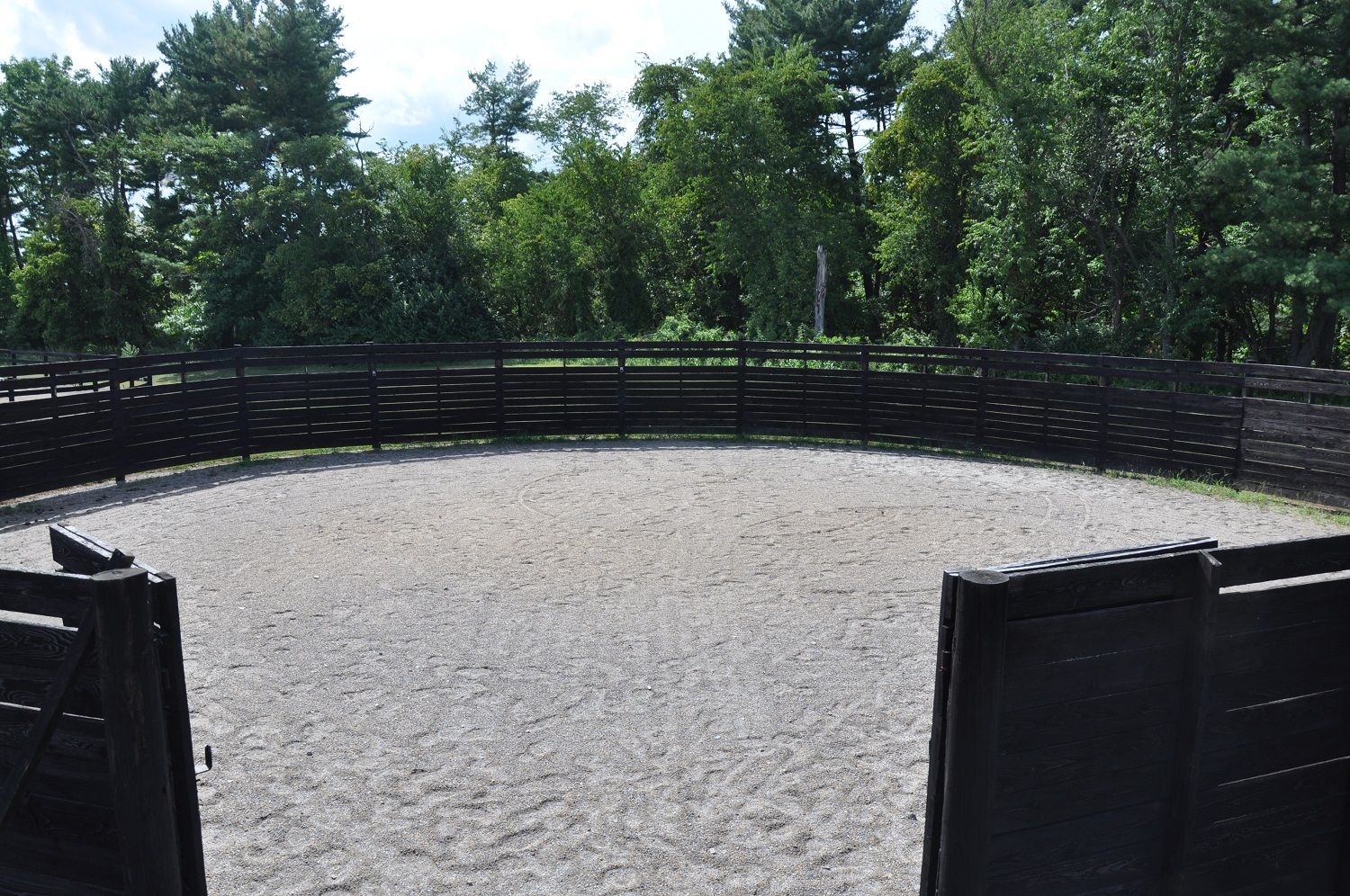 Get back to basics in our 60 foot Round Pen