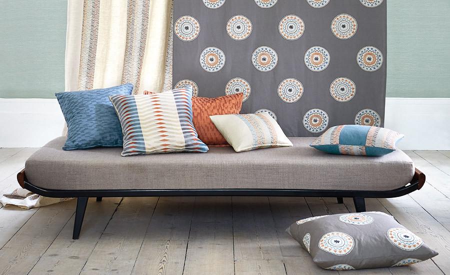 Aymara   Villa Nova Fabrics   availible at Shades Interiors
