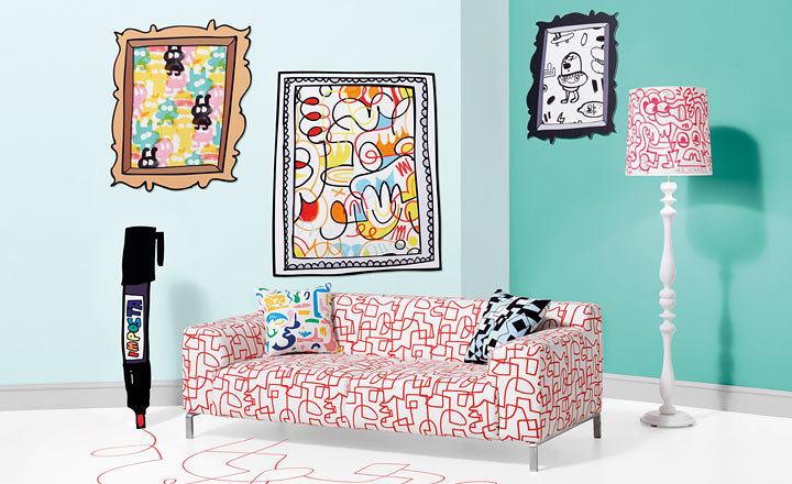 KIRKBY DESIGN X JON BURGERMAN | DOODLE ART FOR INTERIORS