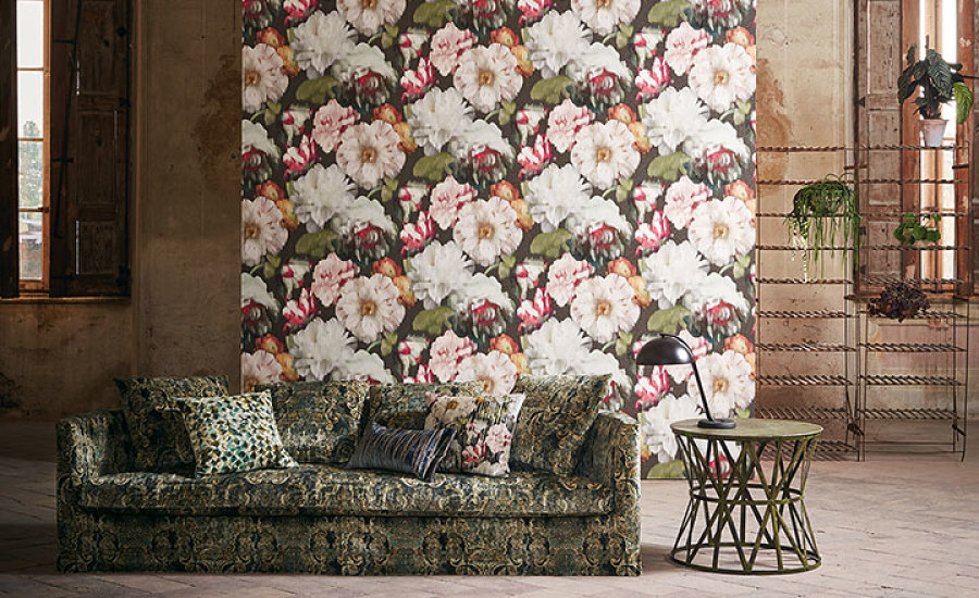 Black Edition Fabrics and Wallpapers
