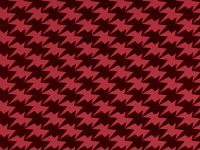 Zig Zag Birds Wallpaper, Lava