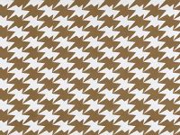Zig Zag Birds Wallpaper, Gold