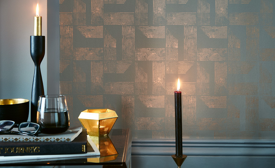 RENZO WALLCOVERING | VILLA NOVA | Available from Shades Interiors