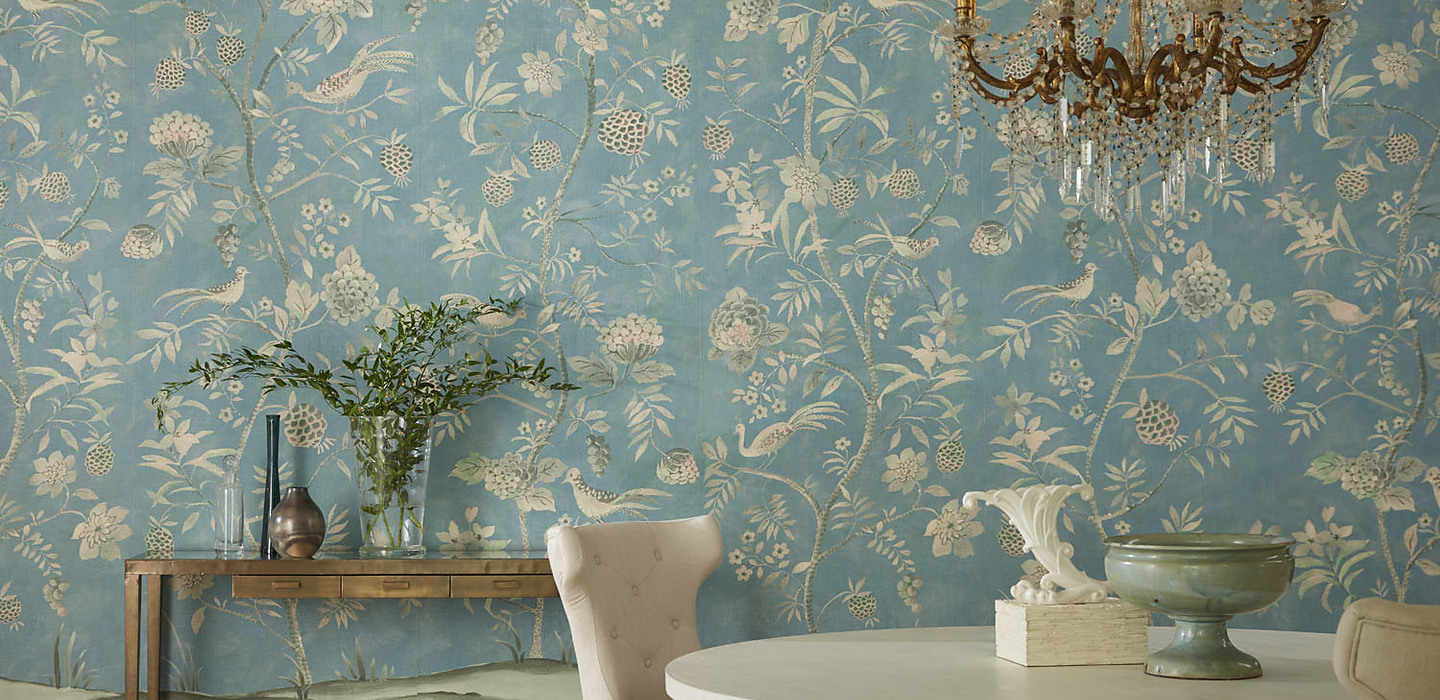 Shangri-La , New for 2019 | Phillip Jeffries Wallpaper