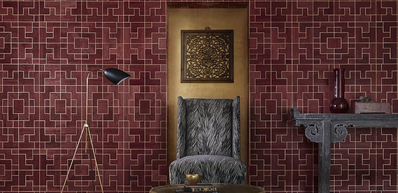 Fretwork Phillip Jeffries Wallpapers Shades Interiors