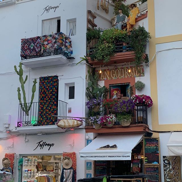 Flower Power Balcony's in Eivissa 🌺