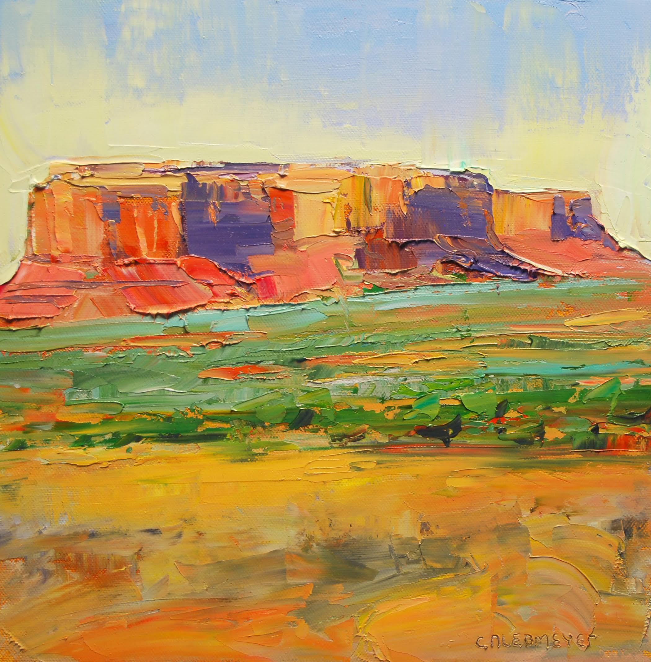 Desert Shadows (study)