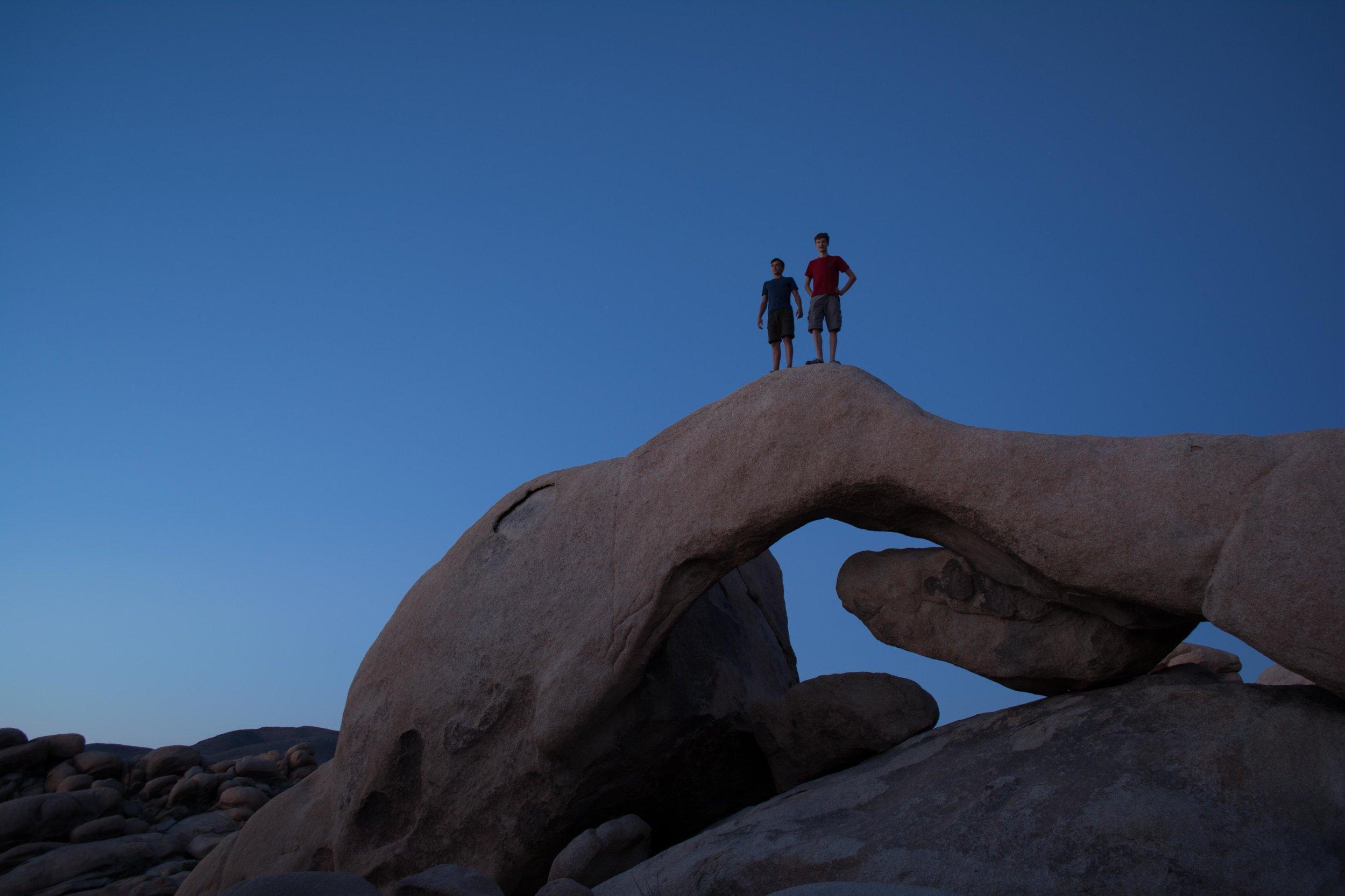 Arch Rock | Joshua Tree National Park
