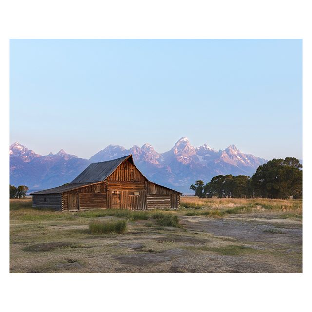 It is crazy that smoke from the fires in California has made it all the way into Grand Teton NP.