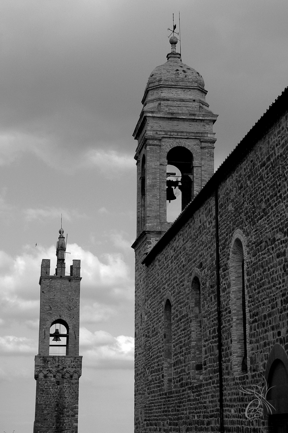 Italy: Tuscan Bell Towers