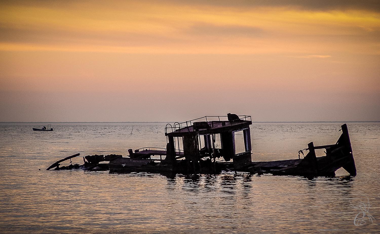Manchac Sunken Boat