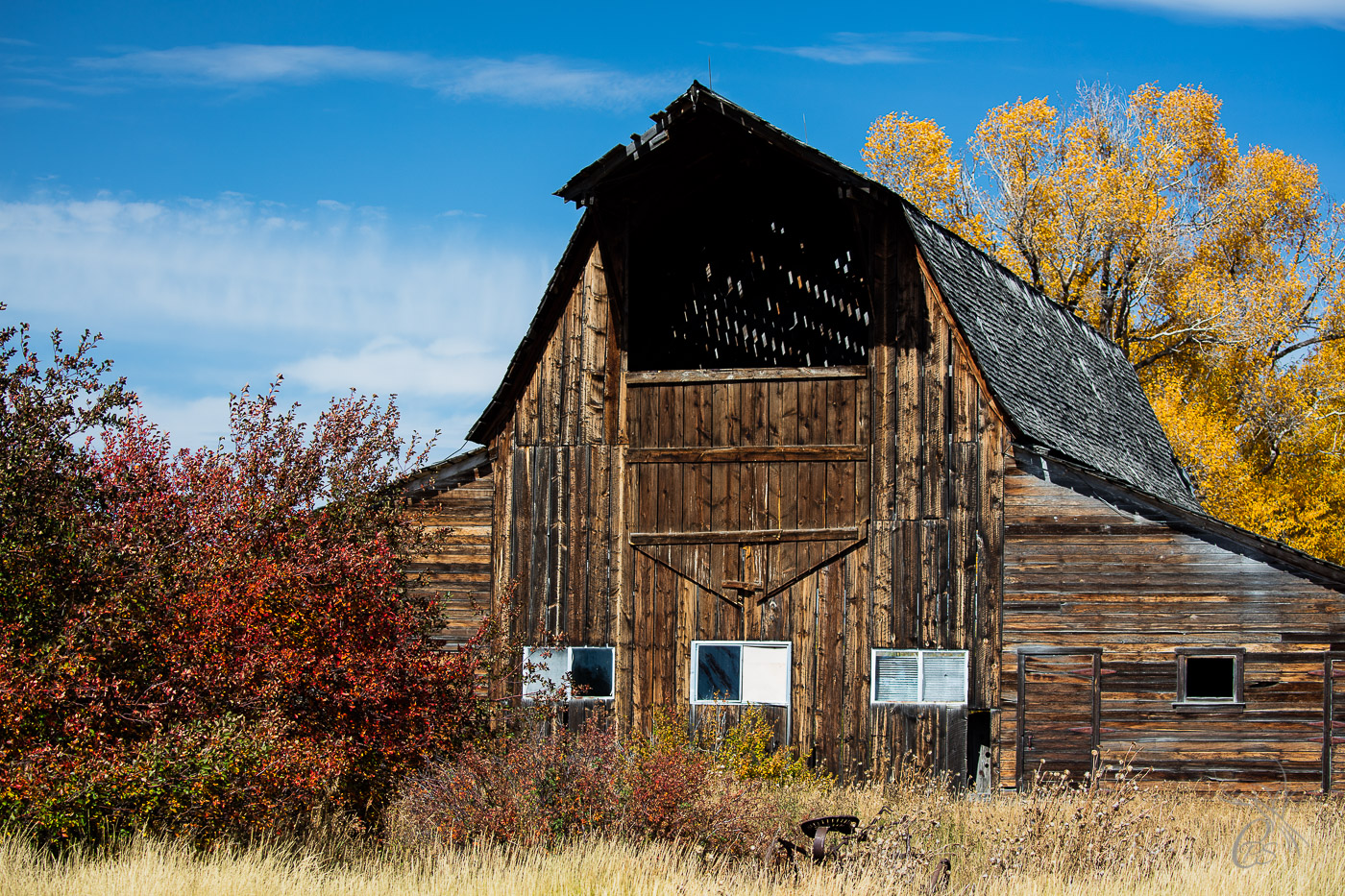 Wyoming: Rustic Barn