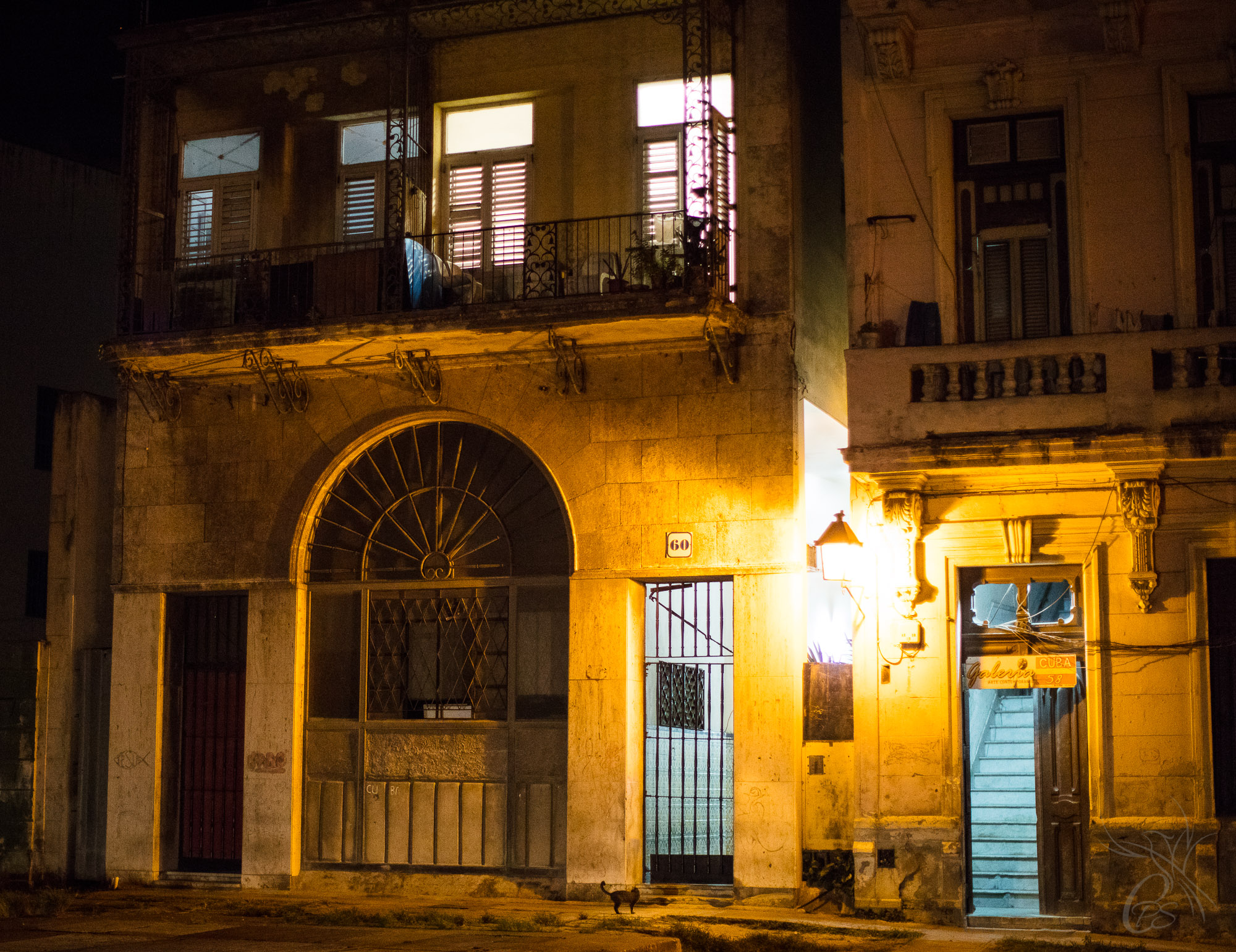 Cuba: Havana Night Scape
