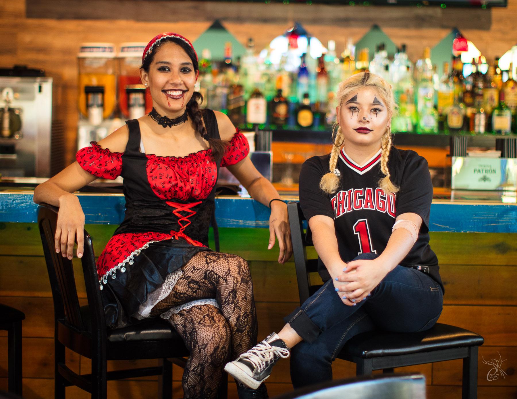 Halloween Waitresses