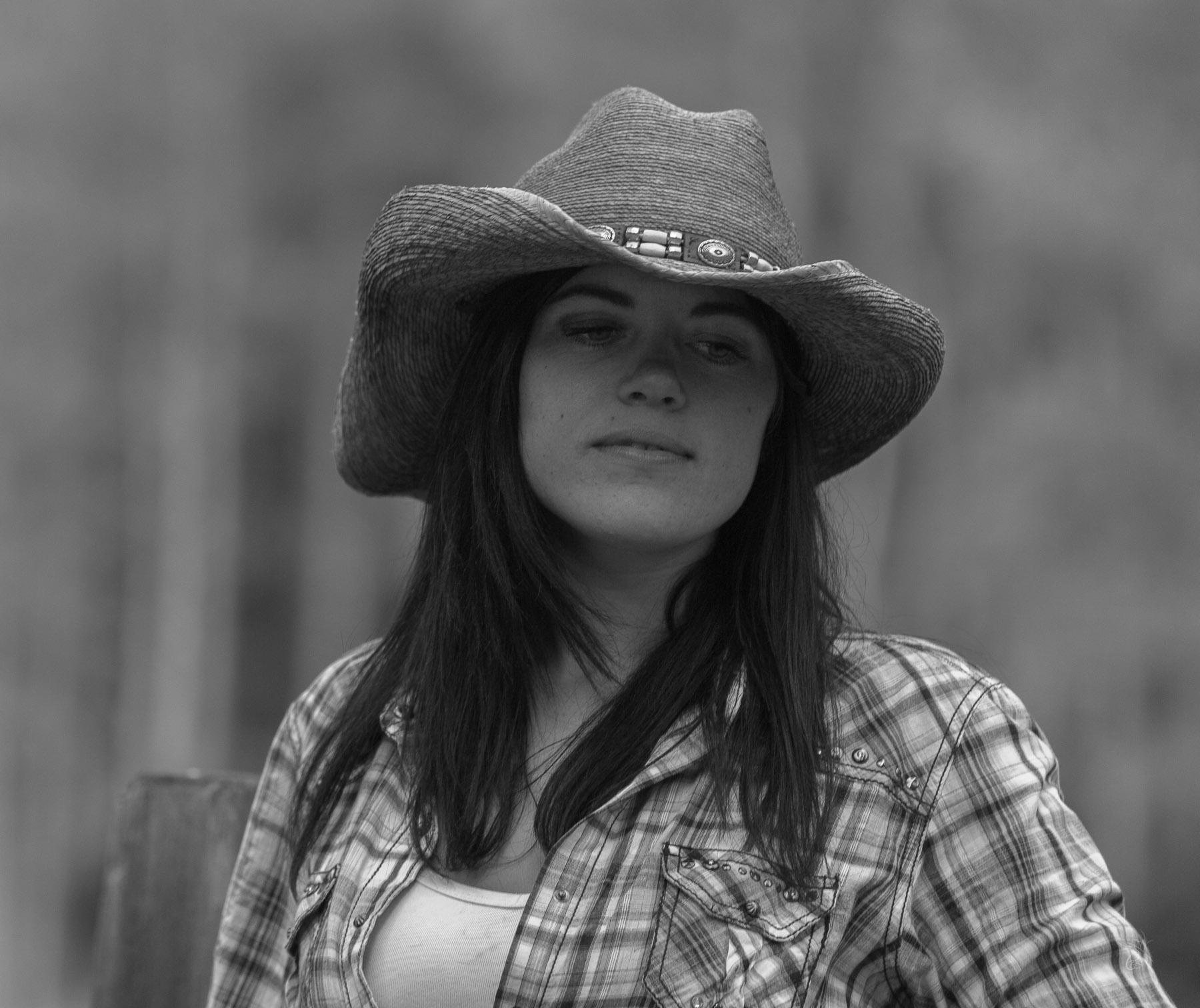 Cowgirl Pensive