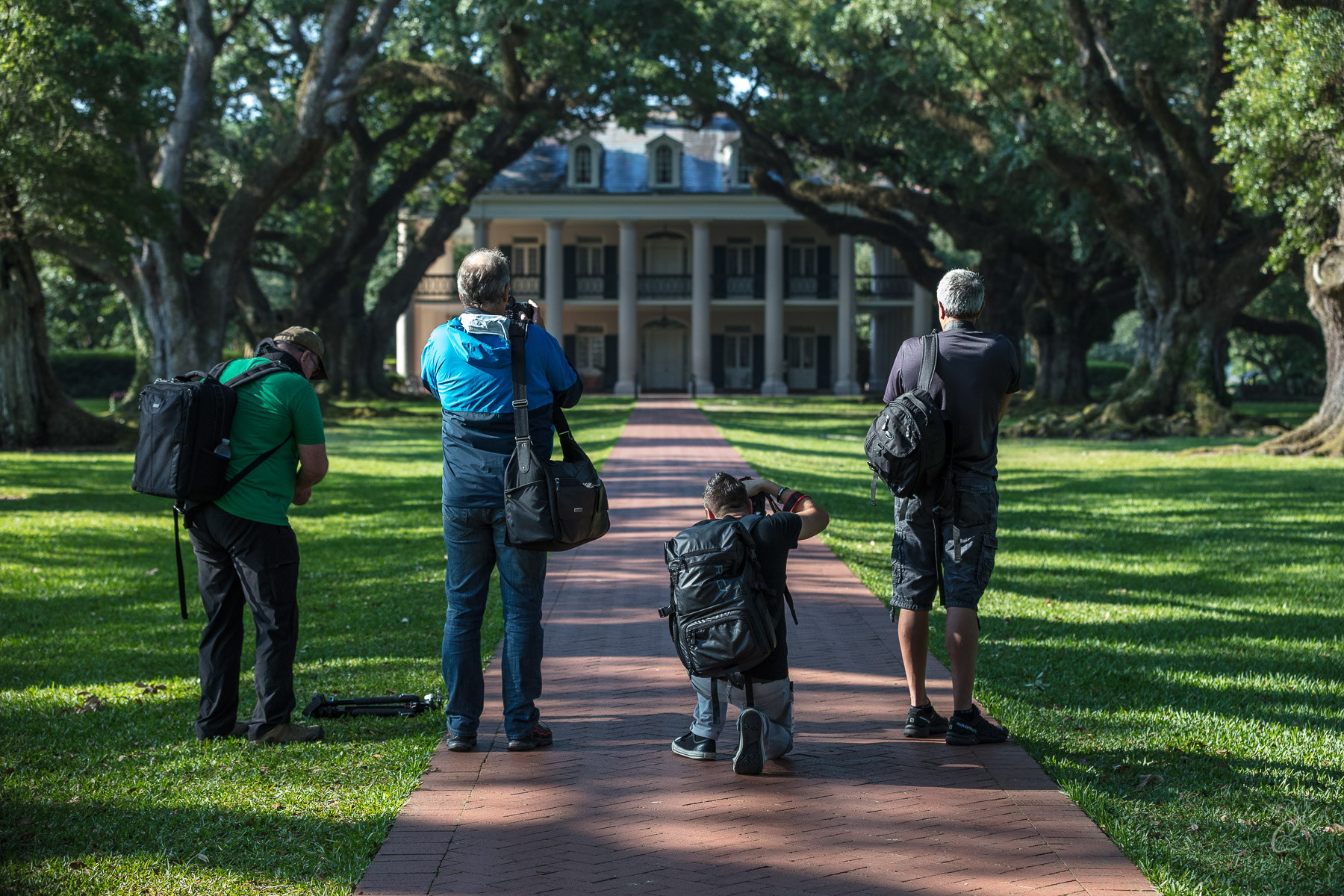 Vacherie, LA: Oak Alley Plantation Photo Shoot