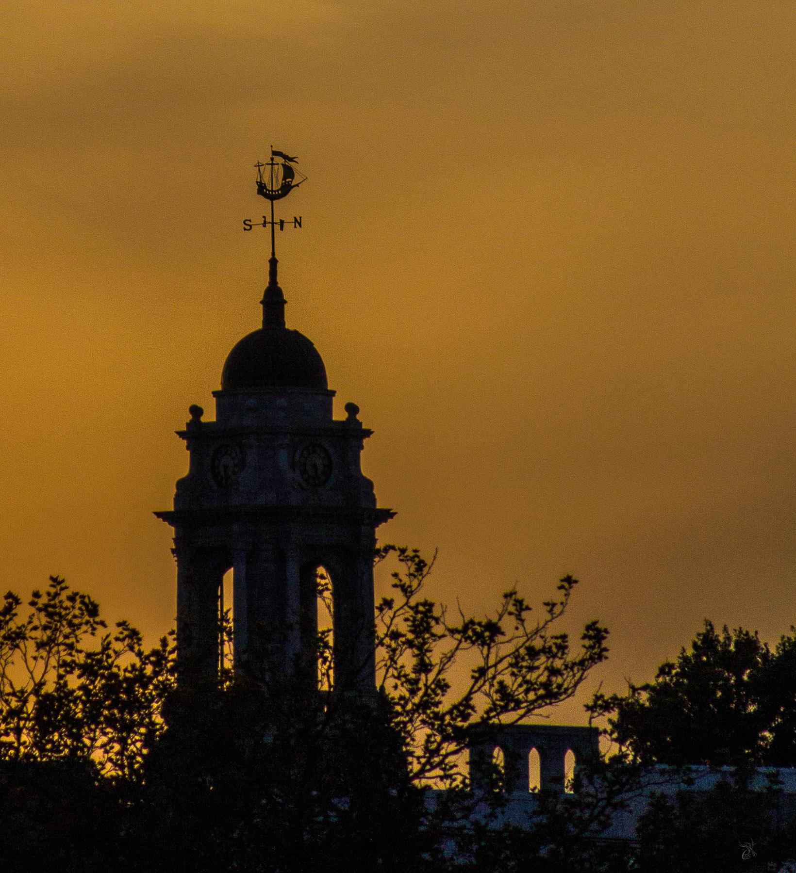 City Hall Weathervane Silhouette