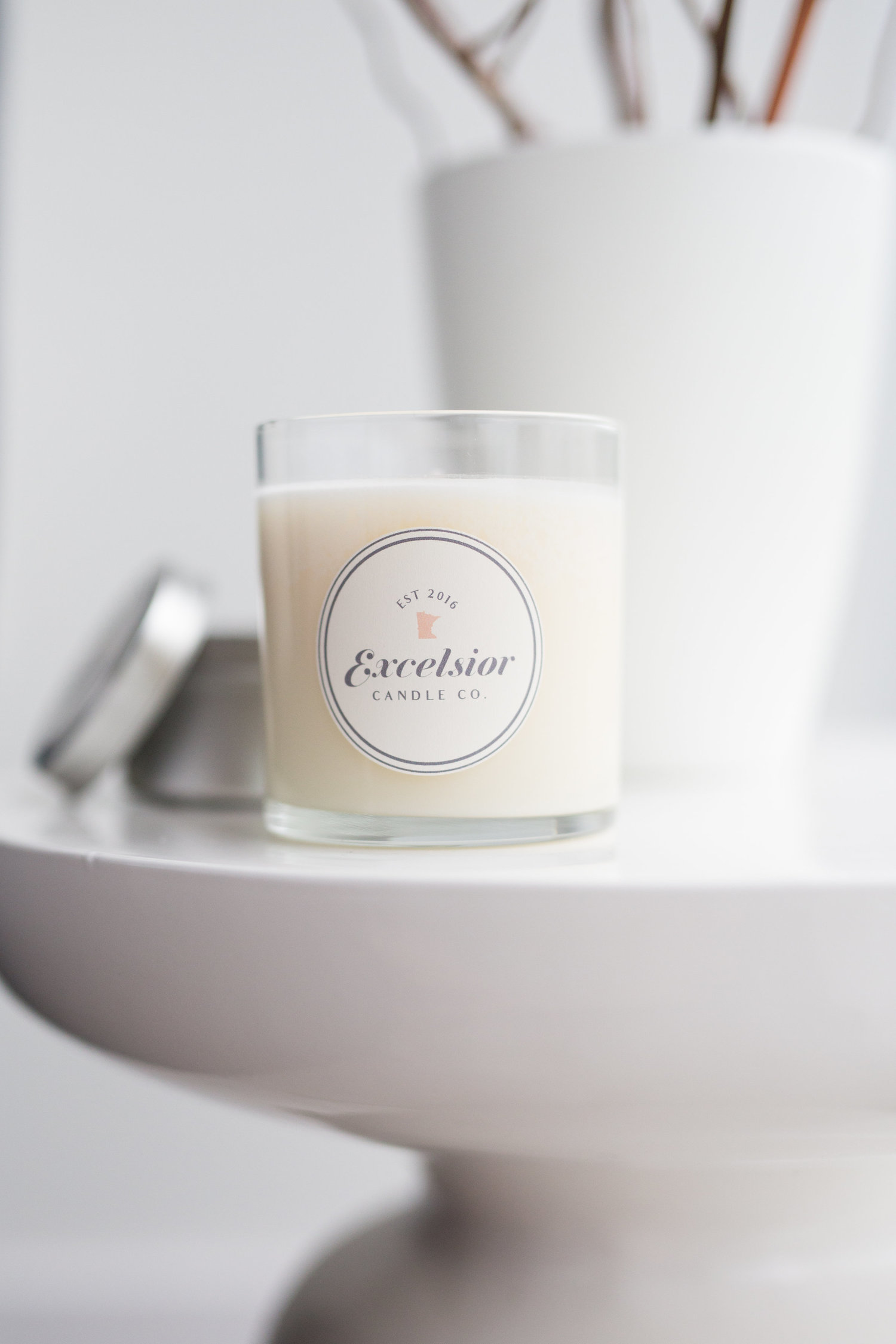 Excelcior Candle Co. candles are available in 6 oz. tins and 11 oz. glass jars. Lake Superior Mist is perfect for Minnesotans and is reminiscent of sitting by the lake. It smells of sunshine, Lake Superior, and grey pebble beaches.