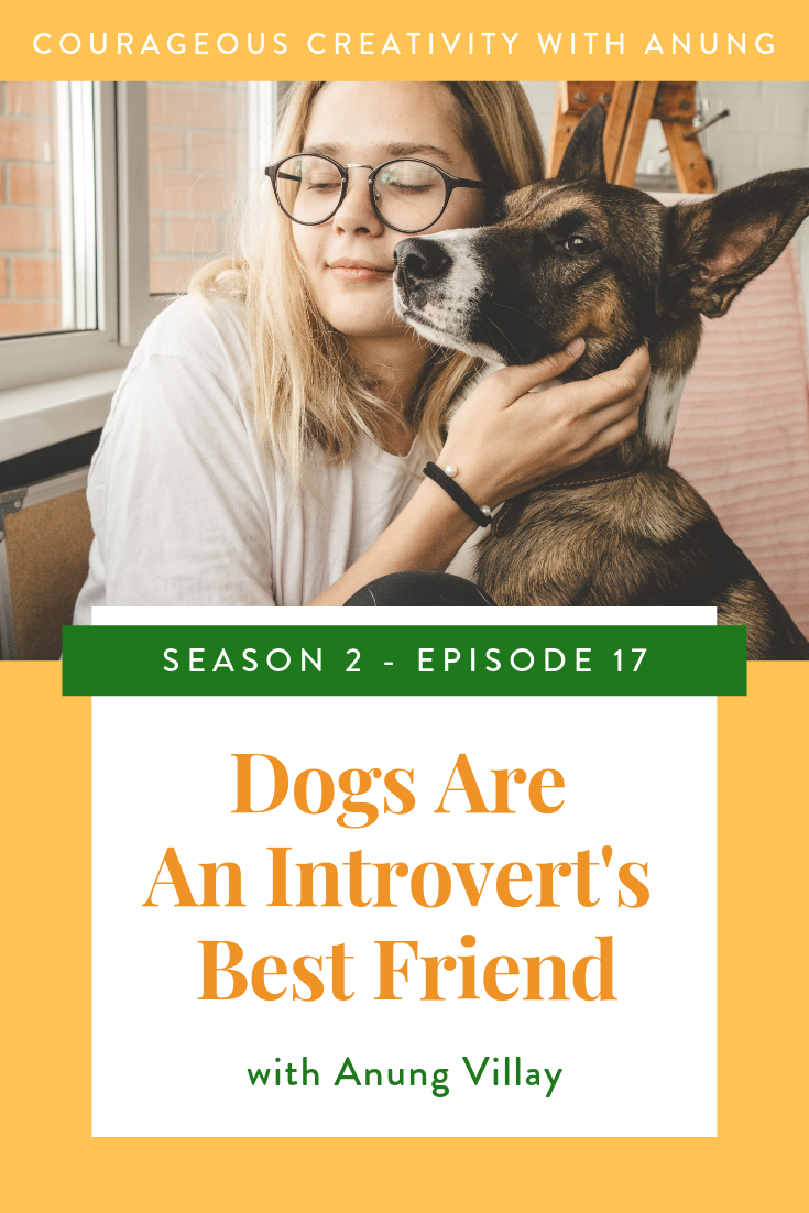 Dogs are an introvert's best friend