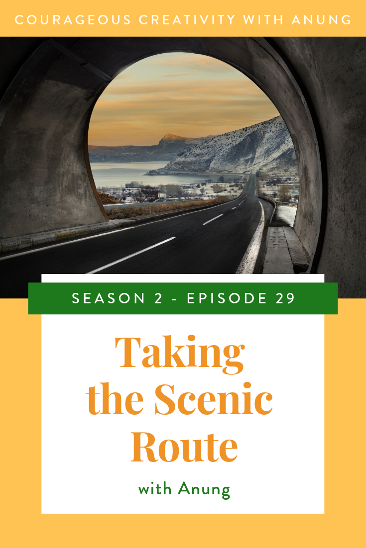 Taking the scenic route