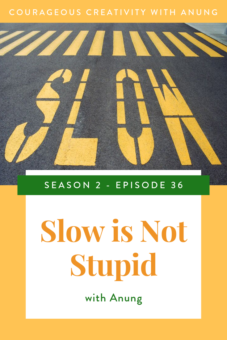 Slow is not stupid
