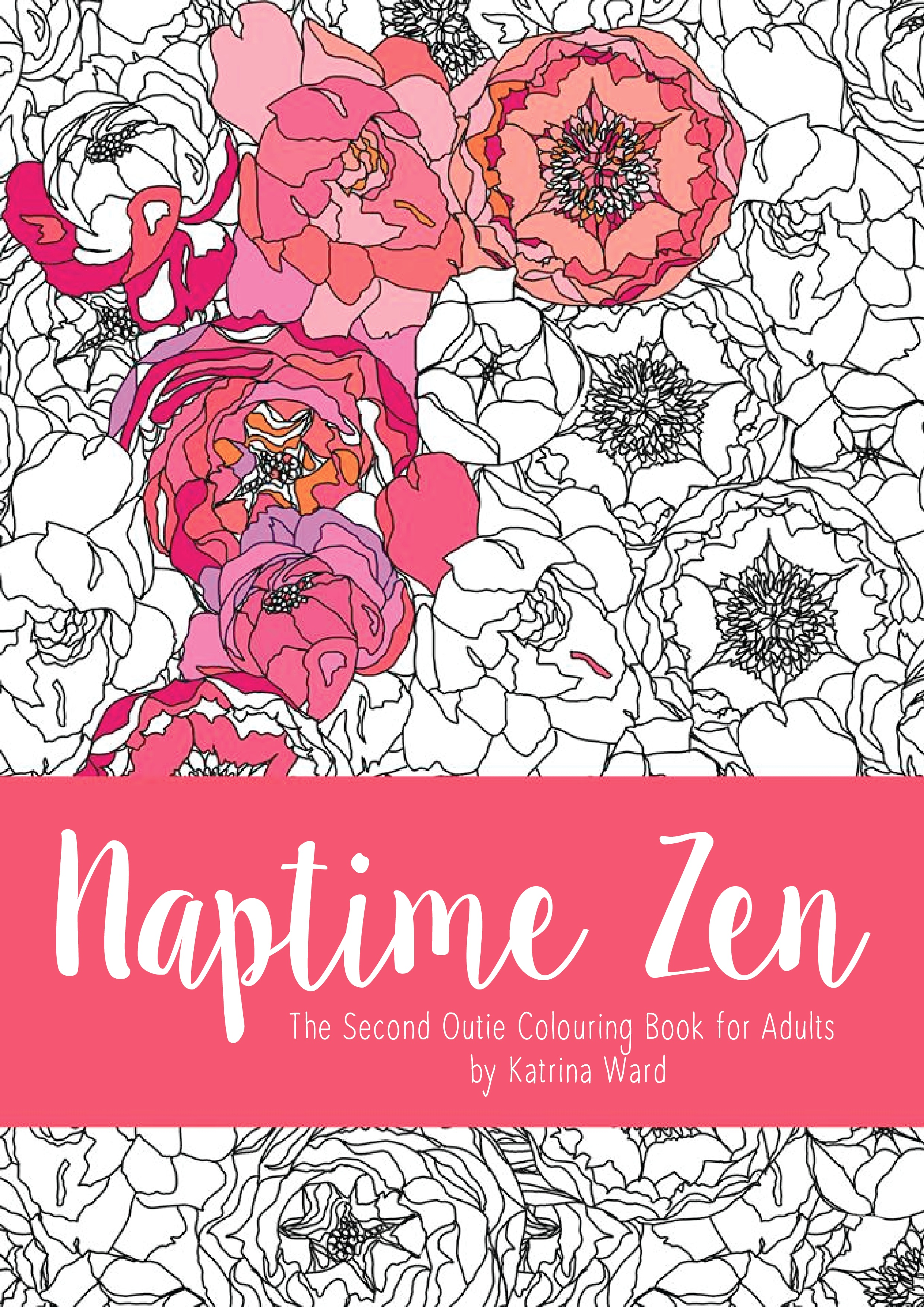 Happily, my first colouring book was nicely put together and I was able to release a second one with added loveliness like nicer paper, perforations, singe-sided printing and a thicker/glossier cover.