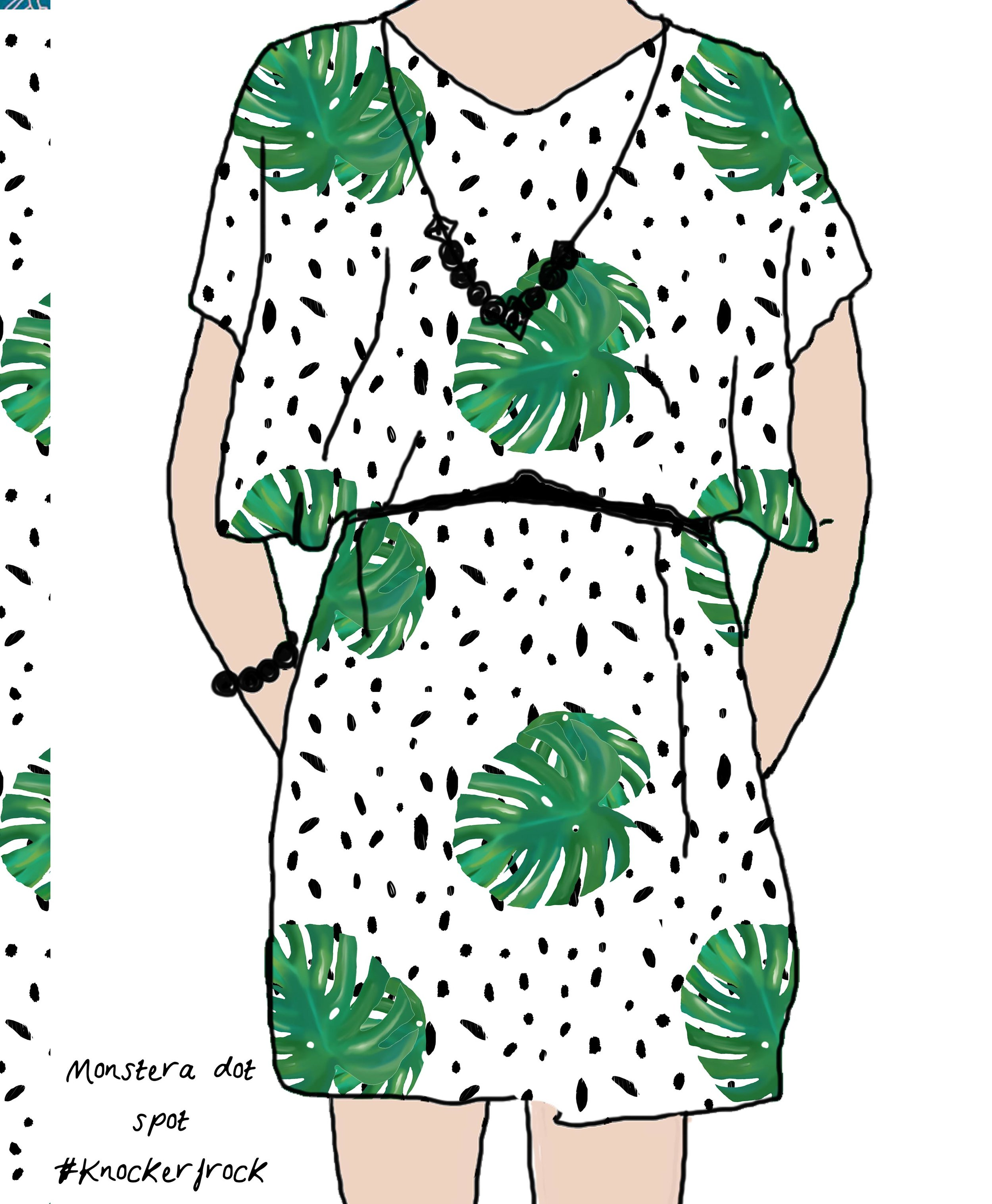 monstera dot spot knockerfrock.jpg
