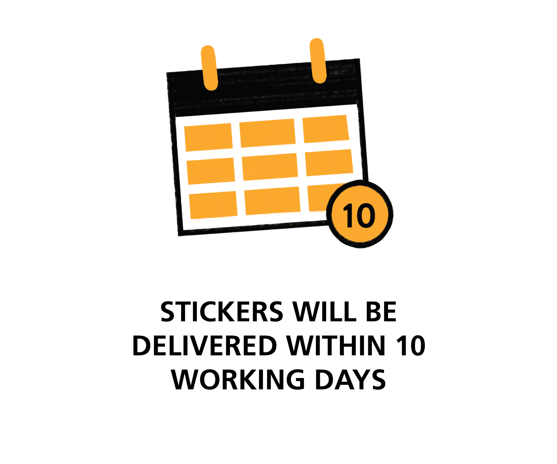 Delivery of custom stickers in Singapore