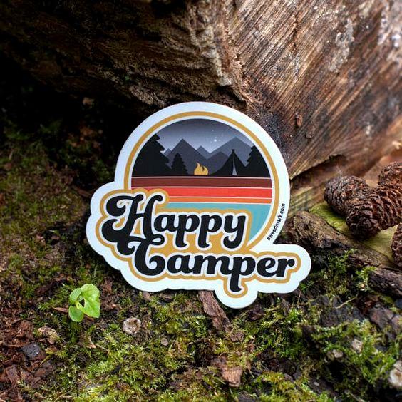 Image Credits:  https://www.etsy.com/in-en/listing/511022633/happy-camper-camping-waterbottle