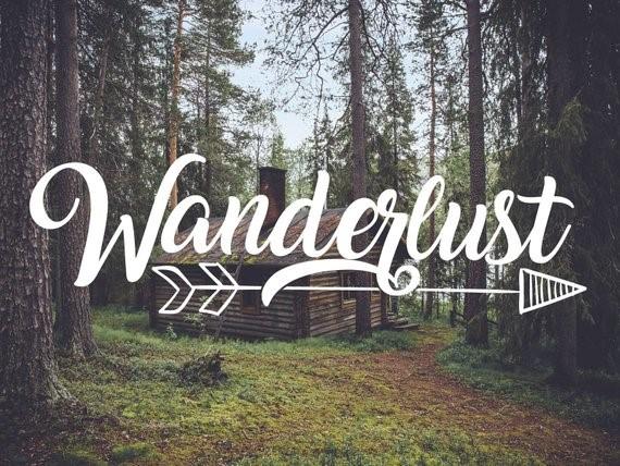 Image Credits:  https://www.etsy.com/in-en/listing/538429655/wanderlust-decal-with-arrow-wanderlust
