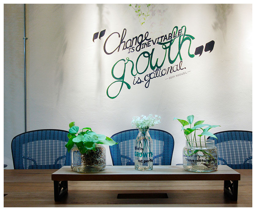 9. Grow with Growth, a coworking space in Siam Square, Thailand