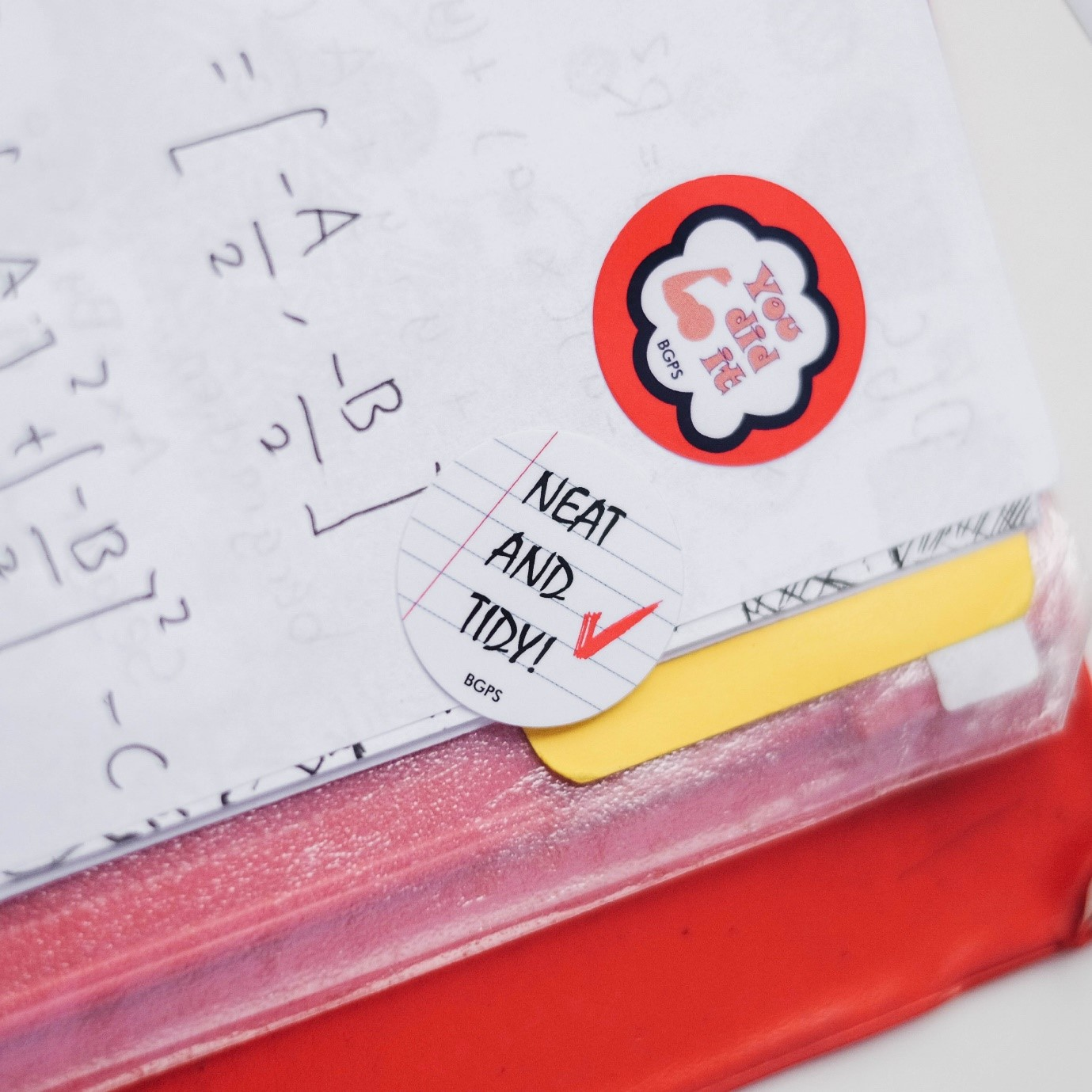 Example 1: Classroom Appraisal and Grading Stickers