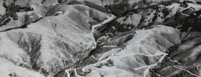 Claremont Canyon circa 1935