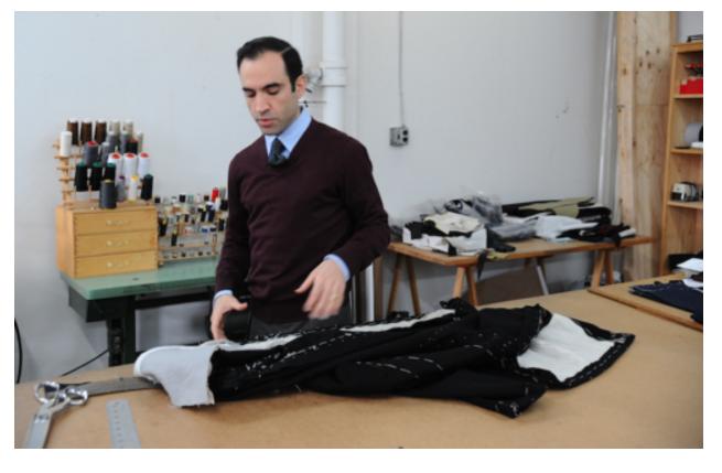 A PATTERN OF EXCELLENCE: Custom Tailor Joseph Genuardi Brings Old World Craftsmanship to Hoboken -Christopher Halleron