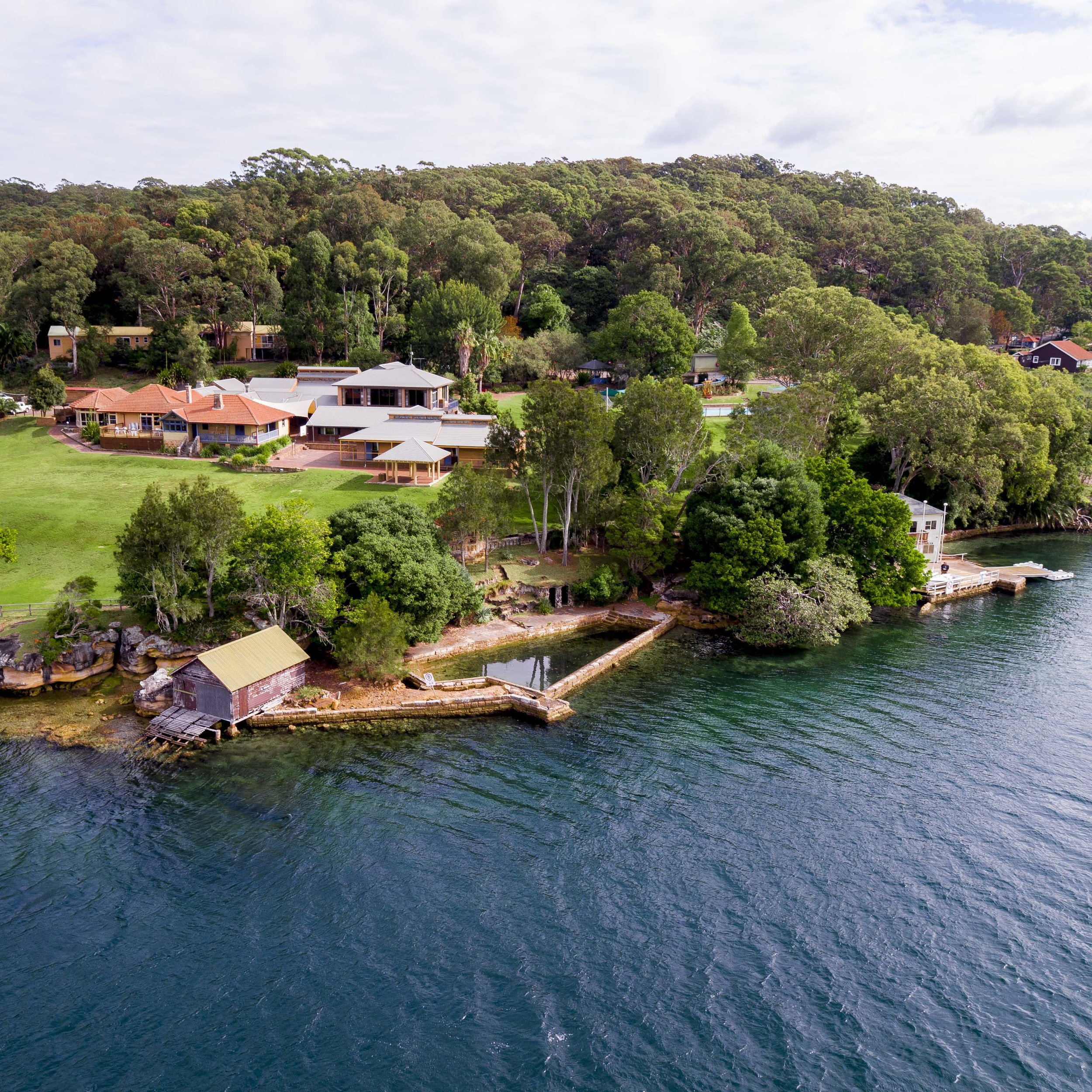 Port Hacking - Rathane Road, Royal National Park, 2232Located on the southern bank of the Port Hacking River, enjoy the absolute waterfront setting in the stunning Royal National Park, while only fifteen minutes drive from Sutherland.