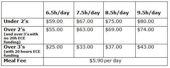 Gems fee schedule